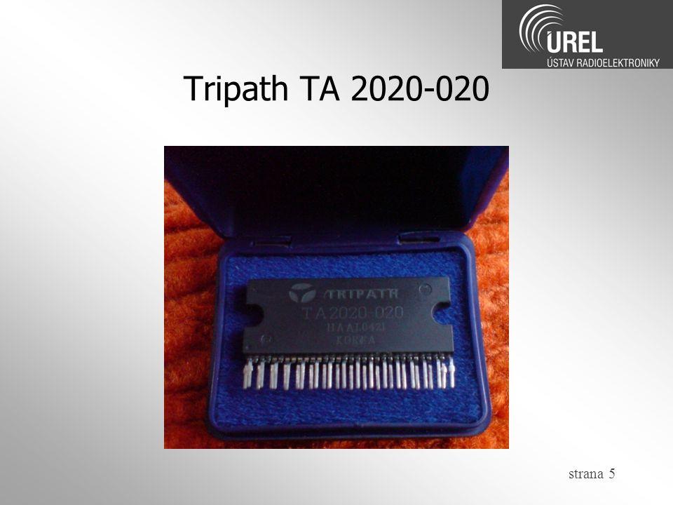 Tripath TA 2020-020