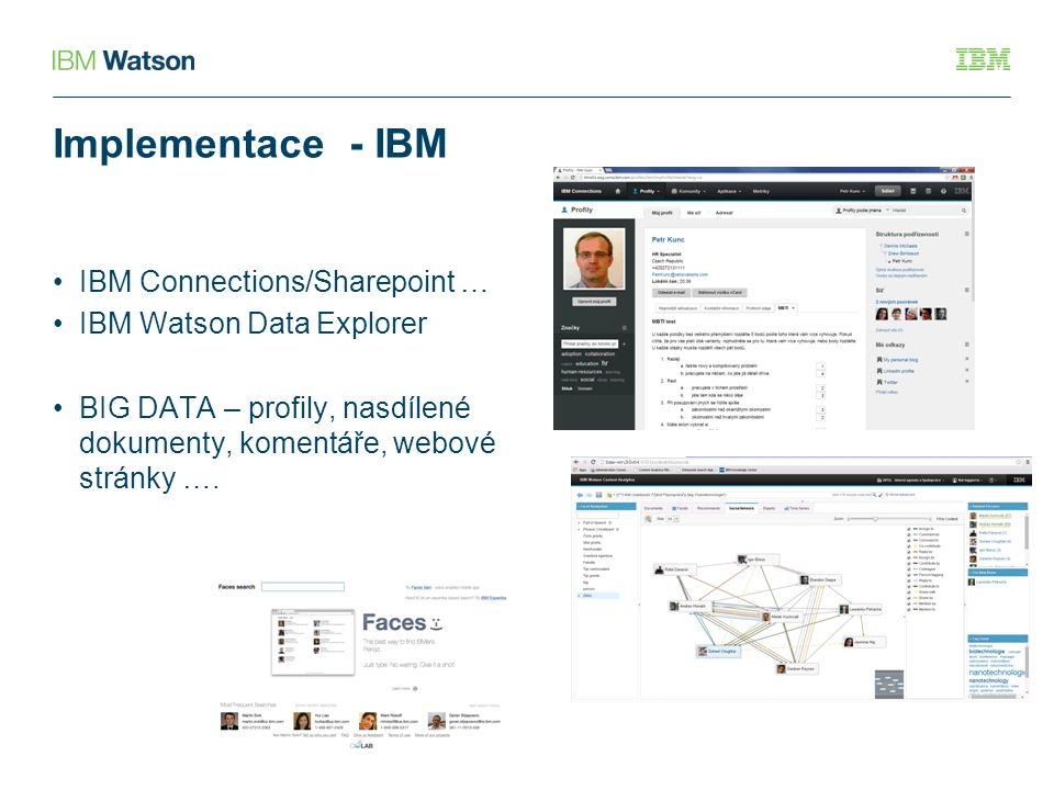 Implementace - IBM IBM Connections/Sharepoint …