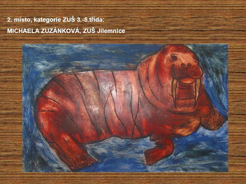 2. místo, kategorie ZUŠ 3.-5.třída:
