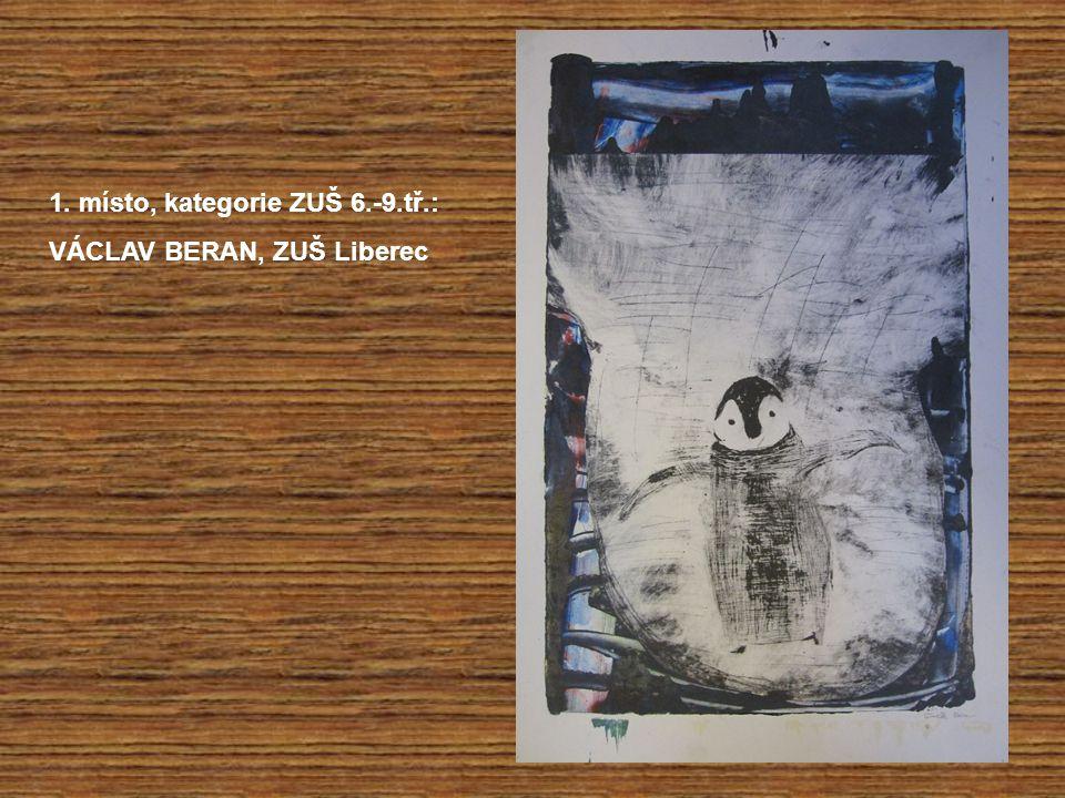 1. místo, kategorie ZUŠ 6.-9.tř.: