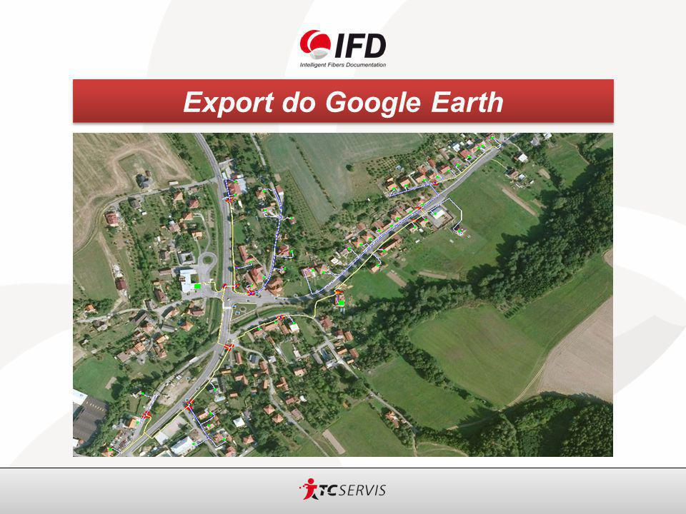 Export do Google Earth