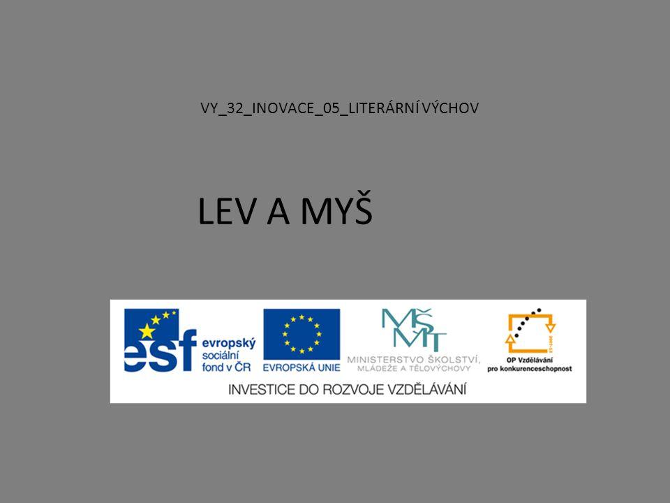VY_32_INOVACE_05_LITERÁRNÍ VÝCHOV