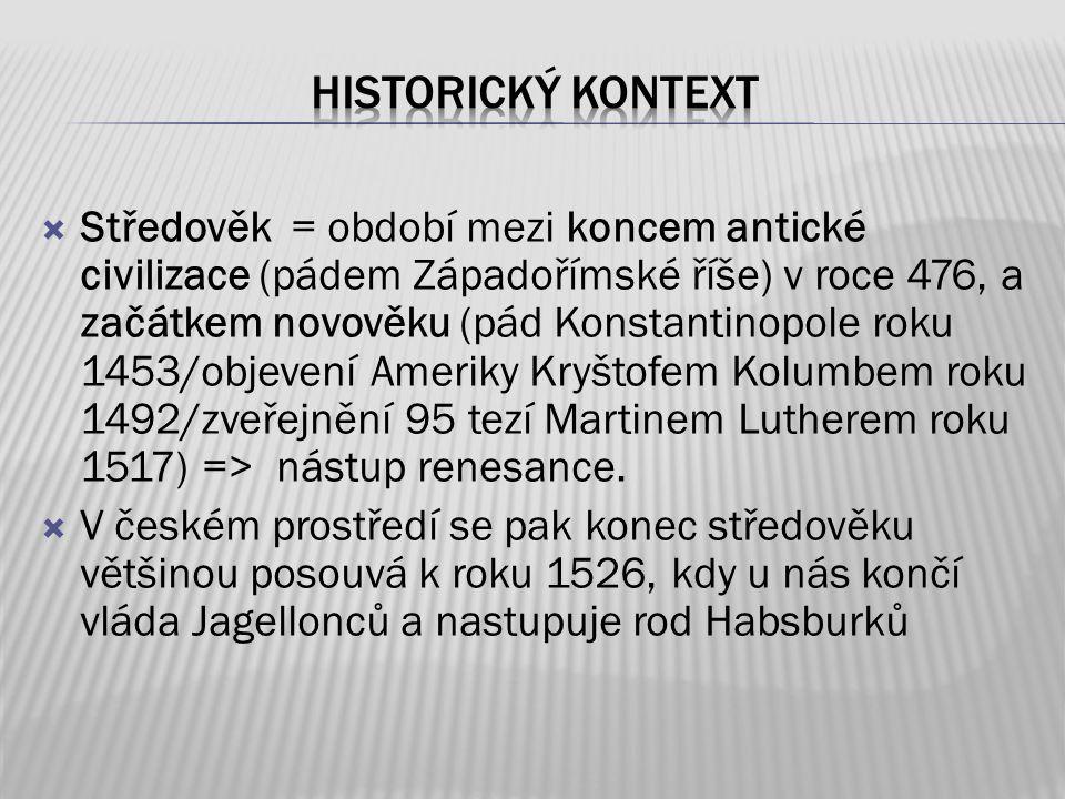 historický kontext