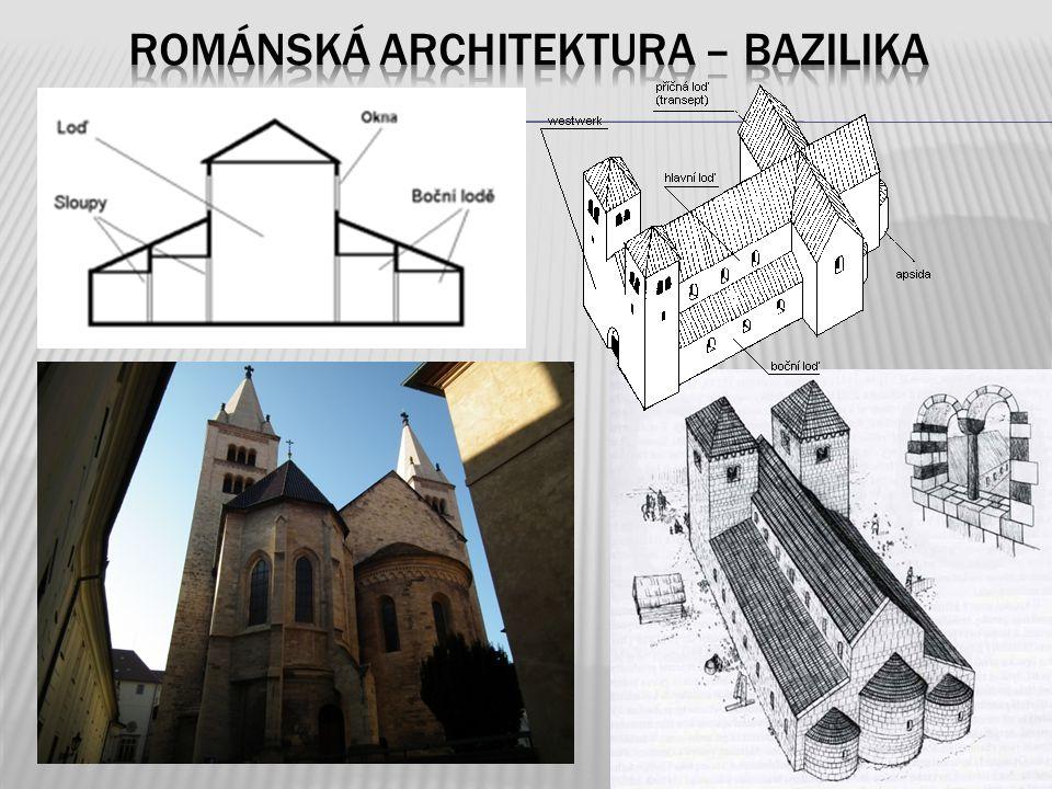 Románská architektura – Bazilika