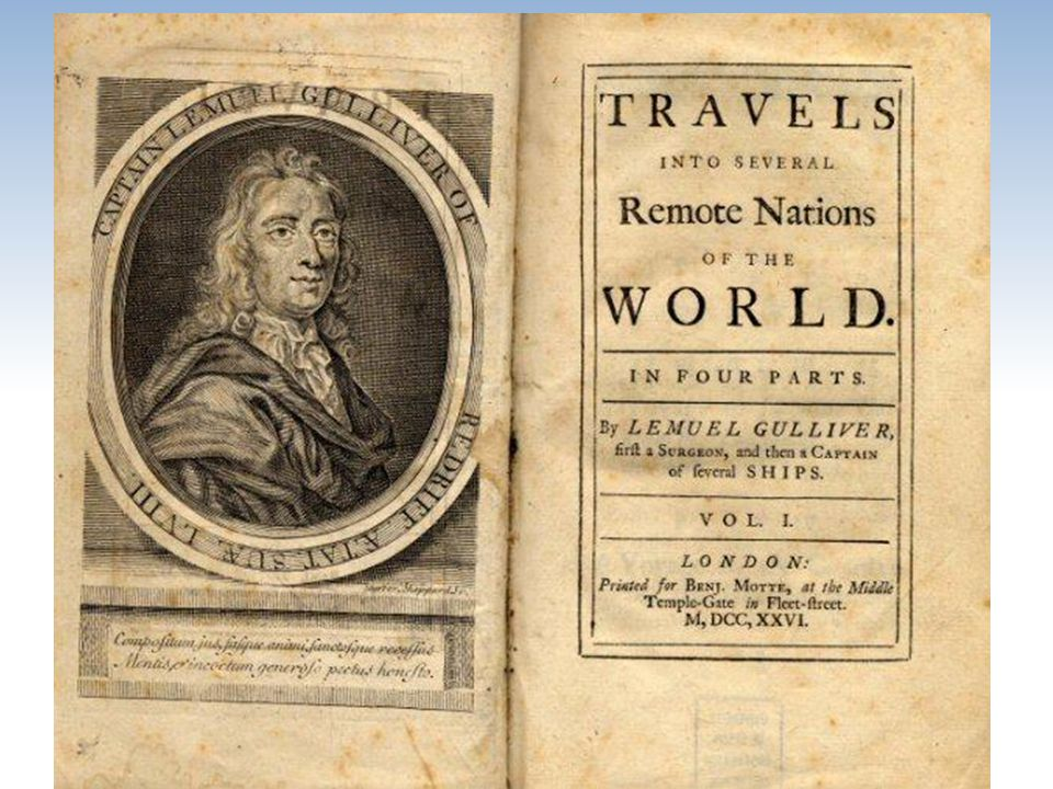 Gulliverovy cesty fantastický cestopis