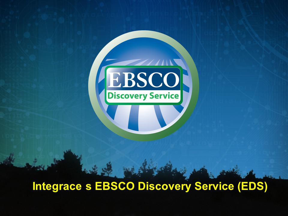 Integrace s EBSCO Discovery Service (EDS)