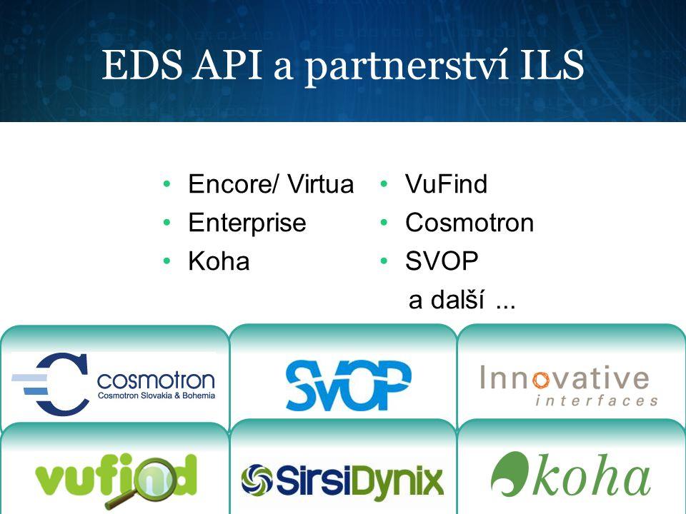 EDS API a partnerství ILS