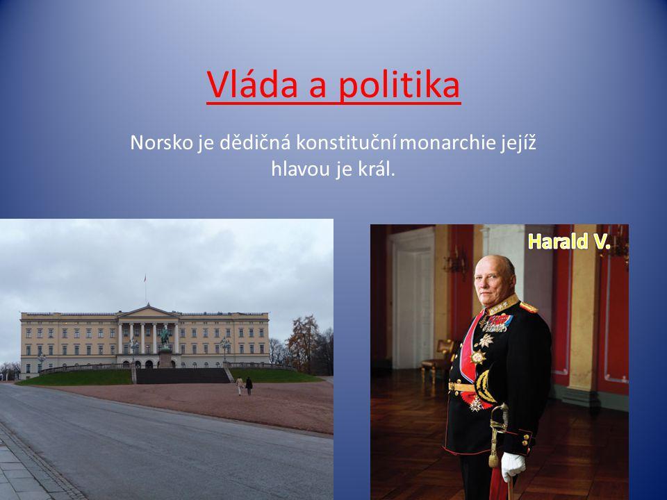 Norsko je dědičná konstituční monarchie jejíž hlavou je král.