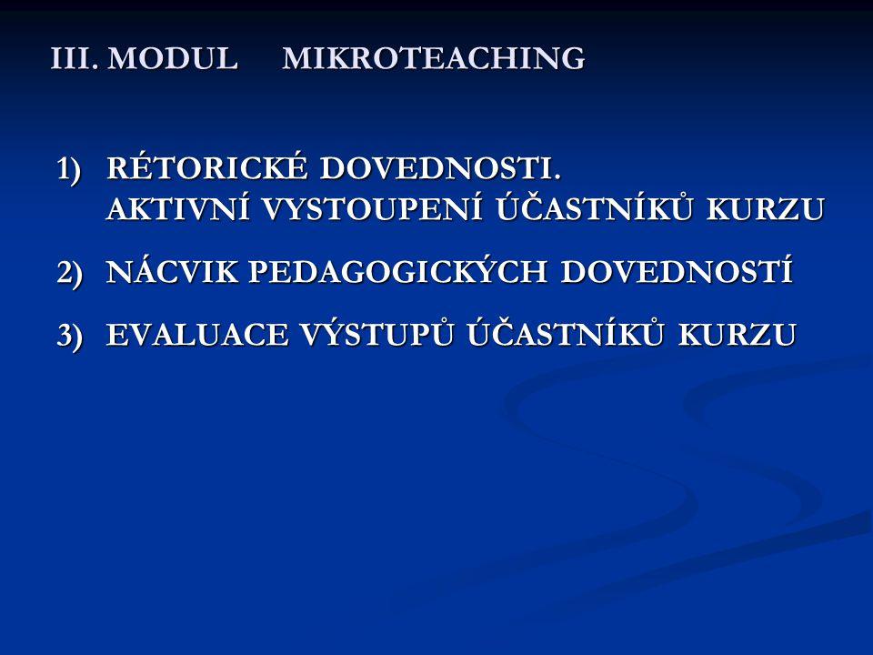 III. MODUL MIKROTEACHING