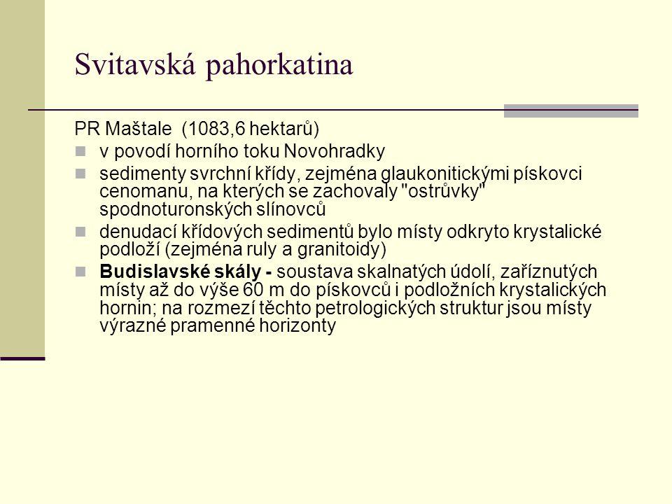 Svitavská pahorkatina