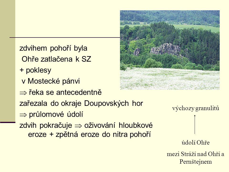 mezi Stráží nad Ohří a Pernštejnem