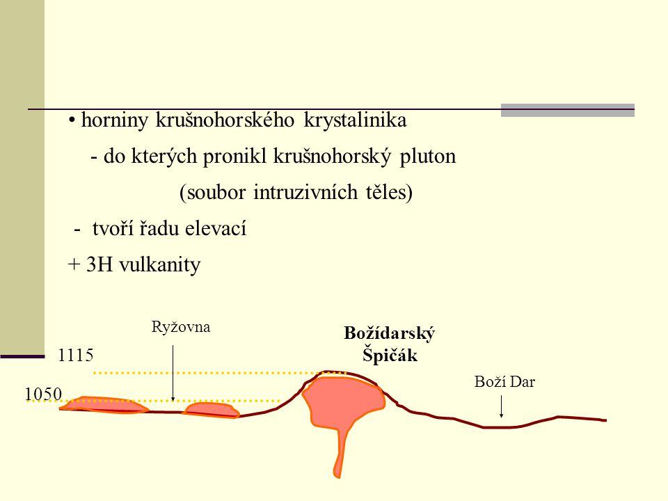 horniny krušnohorského krystalinika