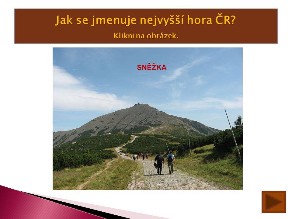 Jak se jmenuje nejvyšší hora ČR