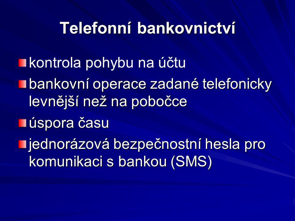 Telefonní bankovnictví