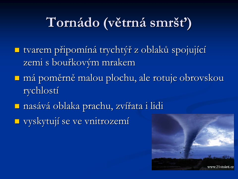 Tornádo (větrná smršť)