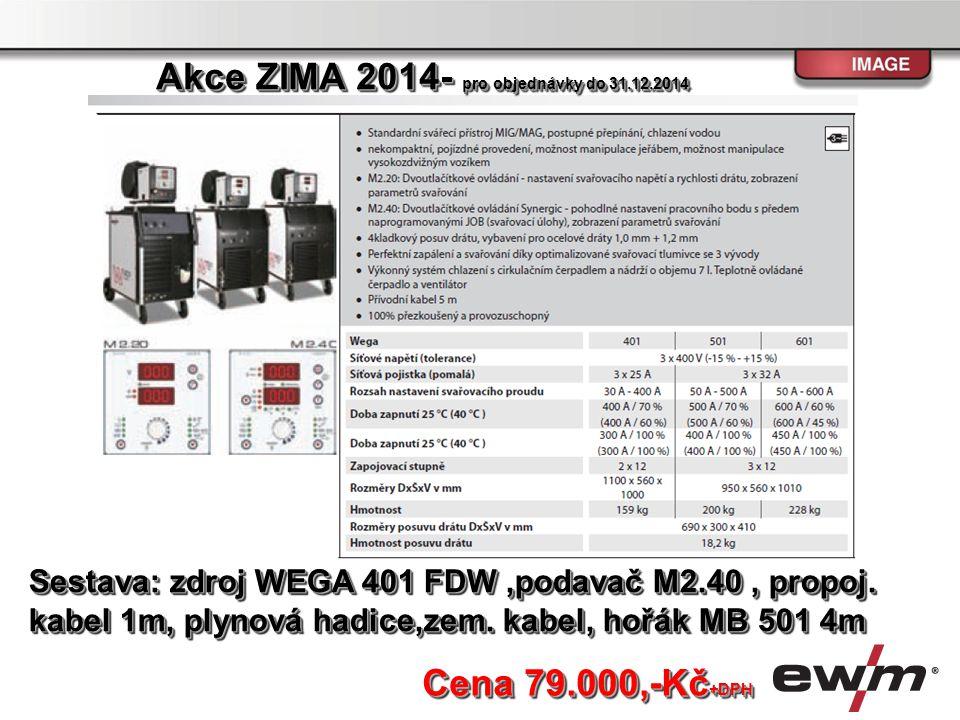 Akce ZIMA 2014- pro objednávky do 31.12.2014