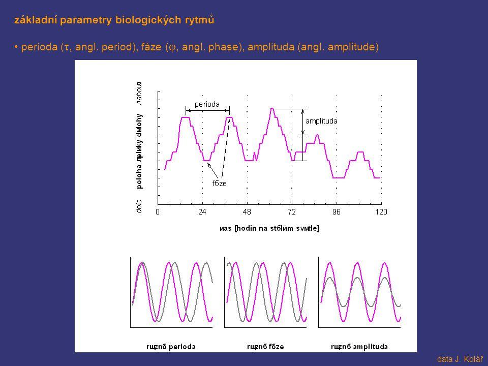 základní parametry biologických rytmů