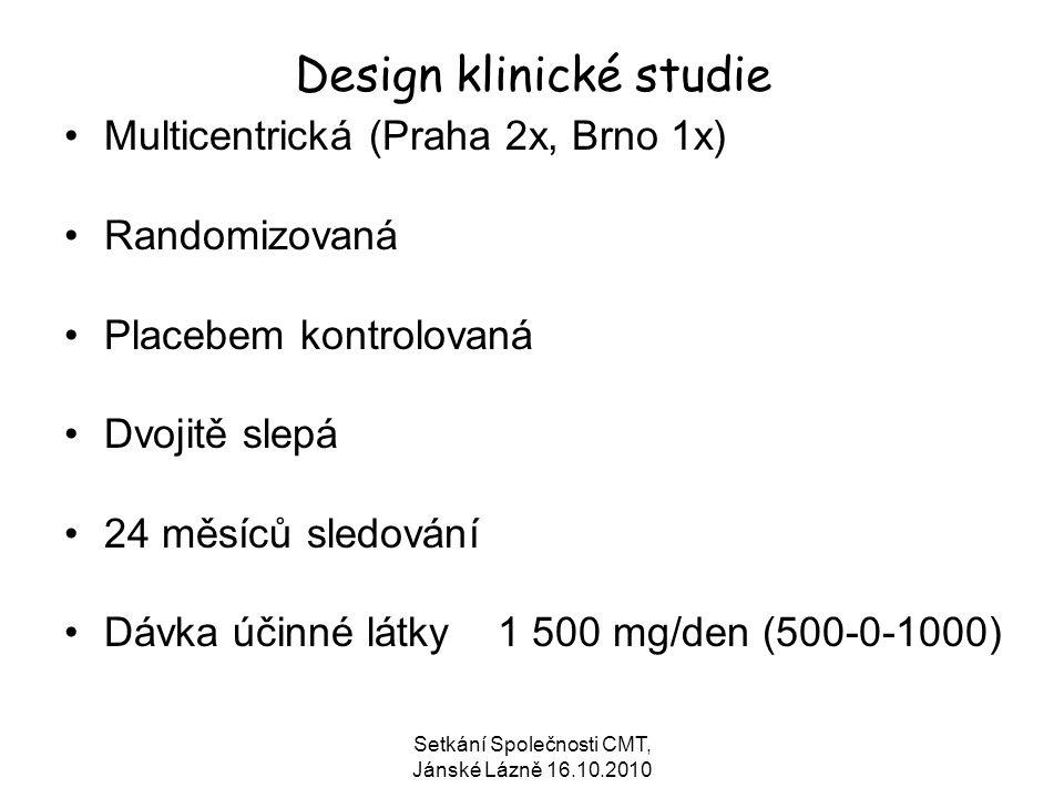 Design klinické studie