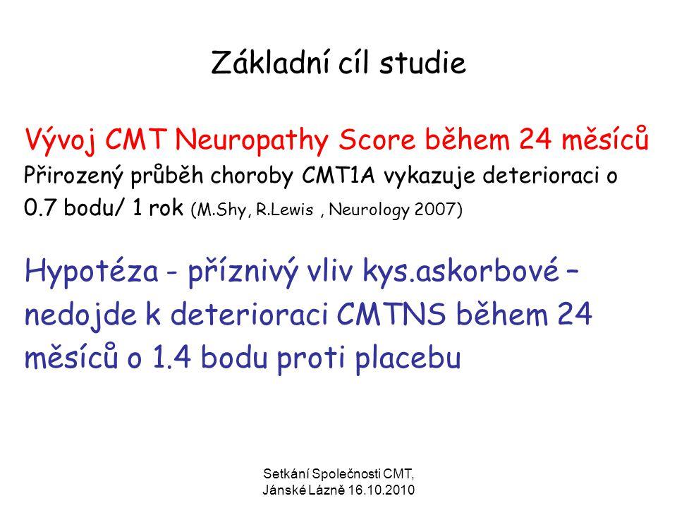 Setkání Společnosti CMT, Jánské Lázně 16.10.2010
