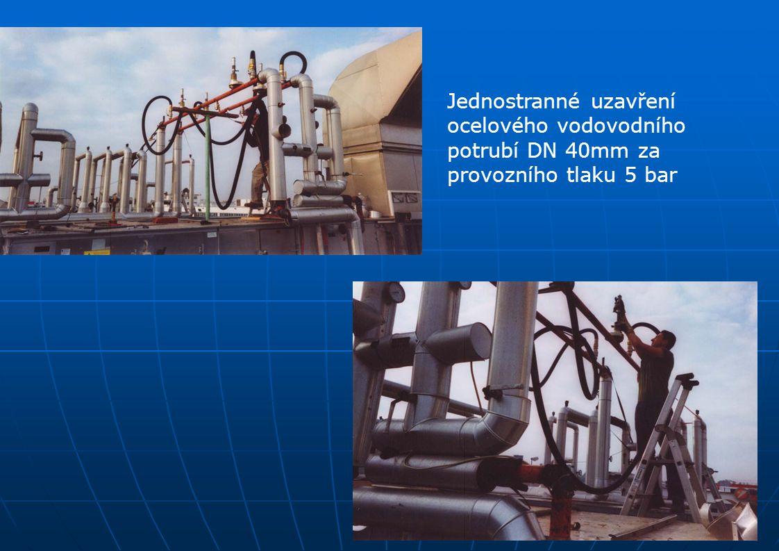 Jednostranné uzavření ocelového vodovodního