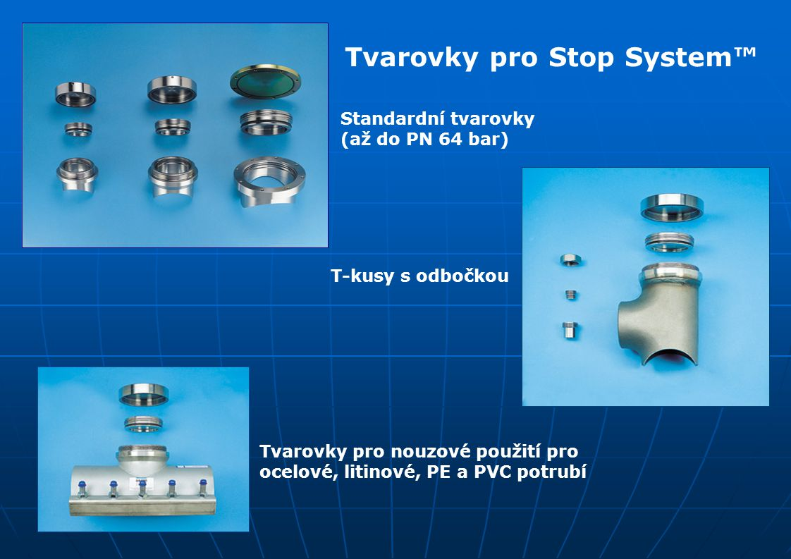 Tvarovky pro Stop System™