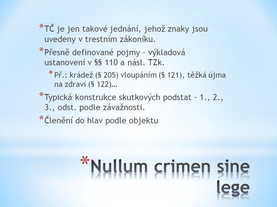 Nullum crimen sine lege