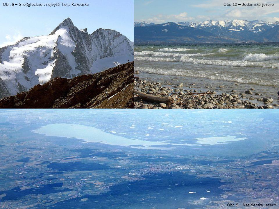 Obr. 8 – Großglockner, nejvyšší hora Rakouska
