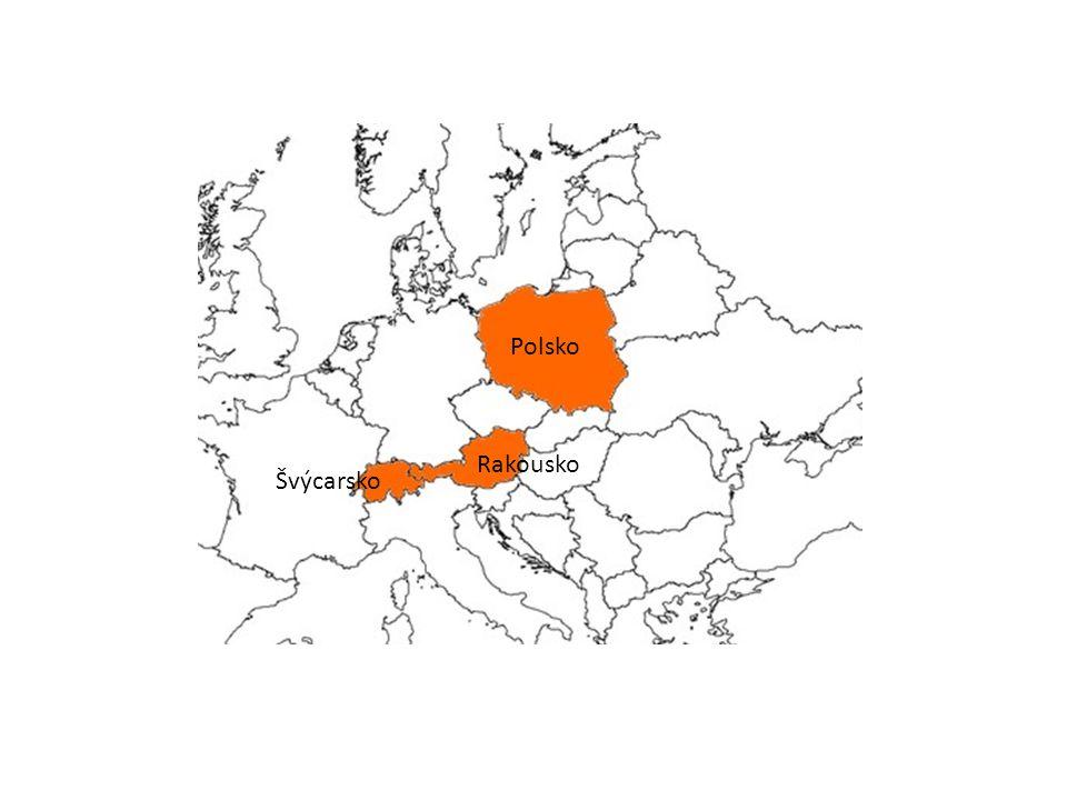 Polsko Rakousko Švýcarsko