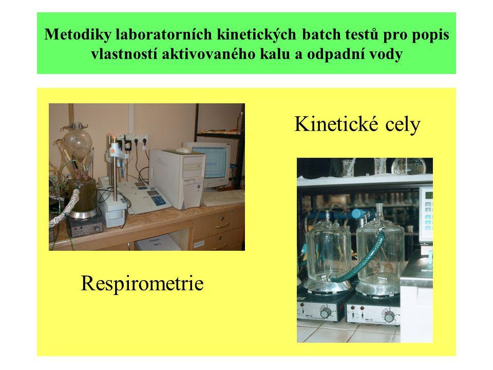 Kinetické cely Respirometrie