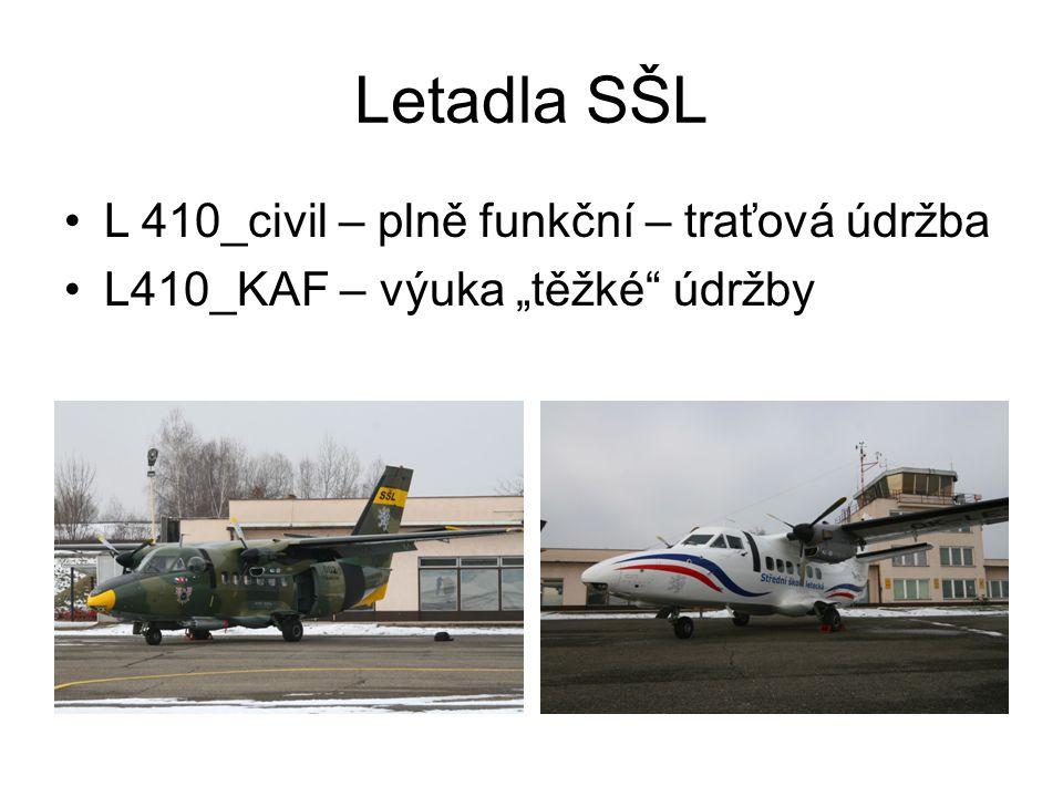 Letadla SŠL L 410_civil – plně funkční – traťová údržba
