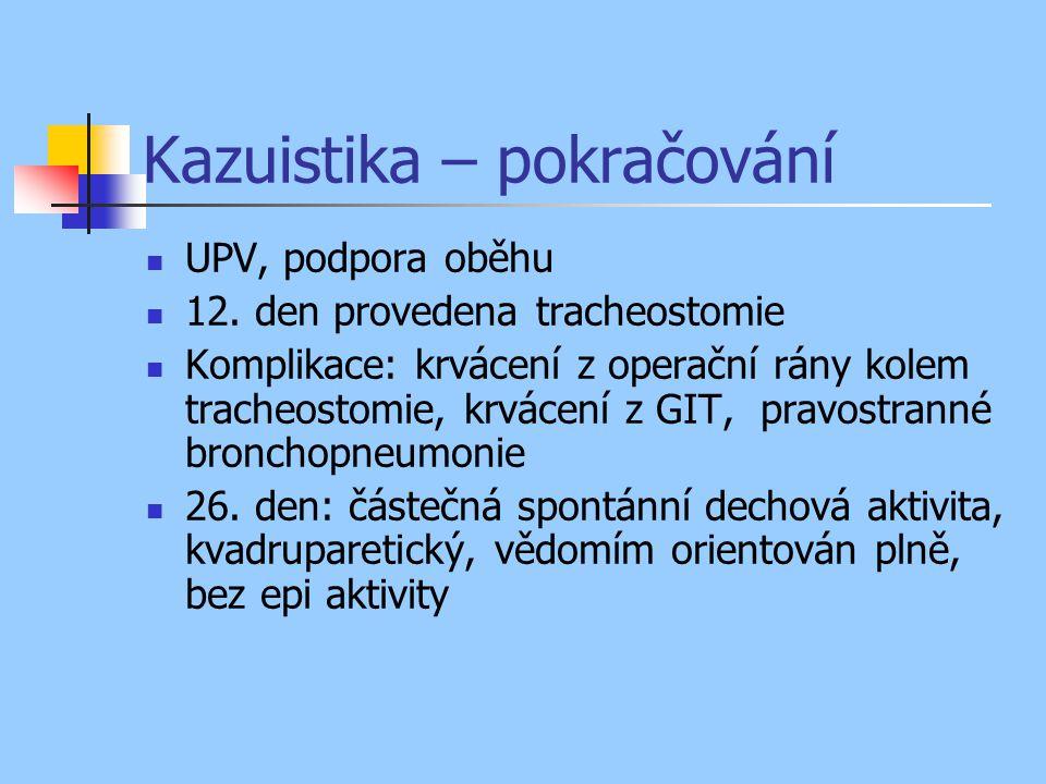 Kazuistika – pokračování