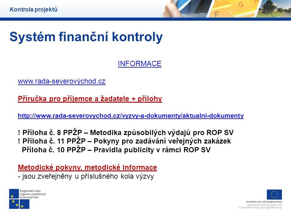 Systém finanční kontroly