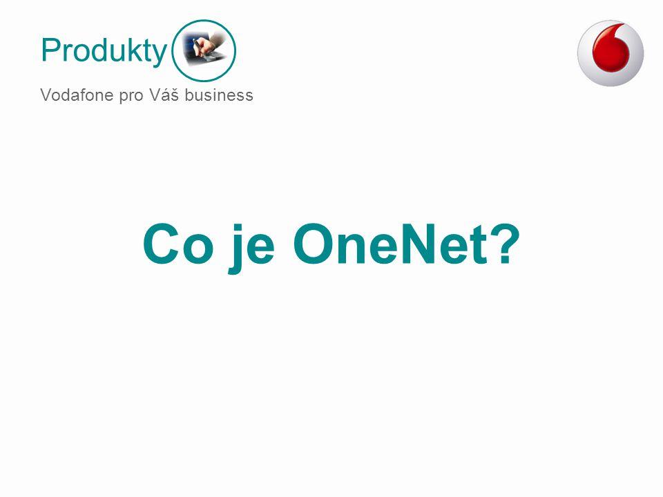 Produkty Vodafone pro Váš business Co je OneNet