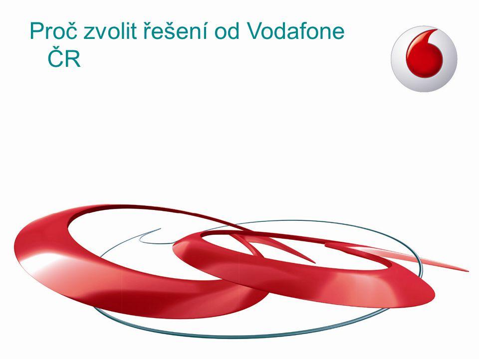 Proč zvolit řešení od Vodafone ČR