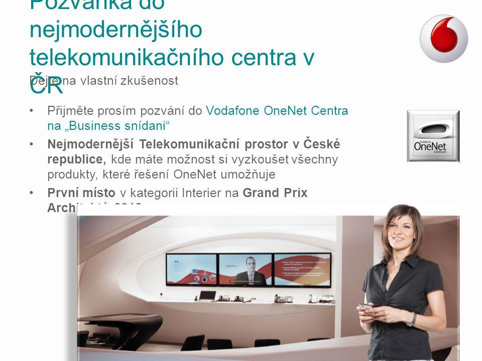 Pozvánka do nejmodernějšího telekomunikačního centra v ČR