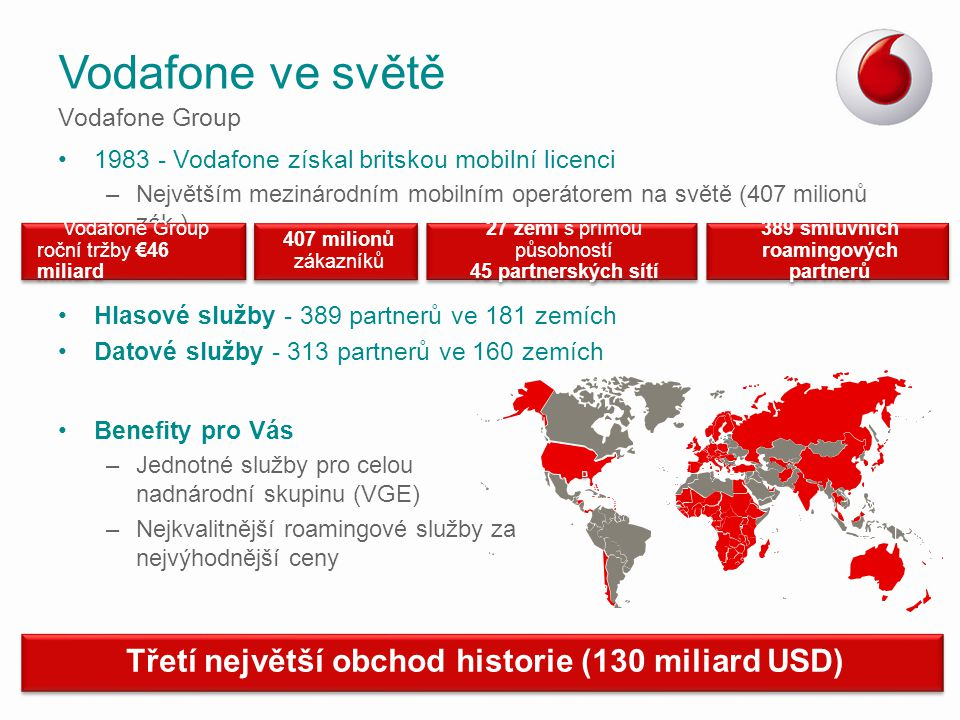 389 smluvních roamingových partnerů