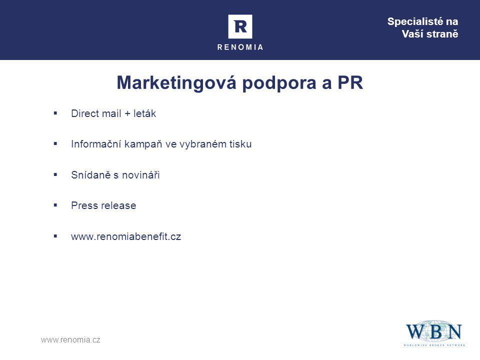 Marketingová podpora a PR