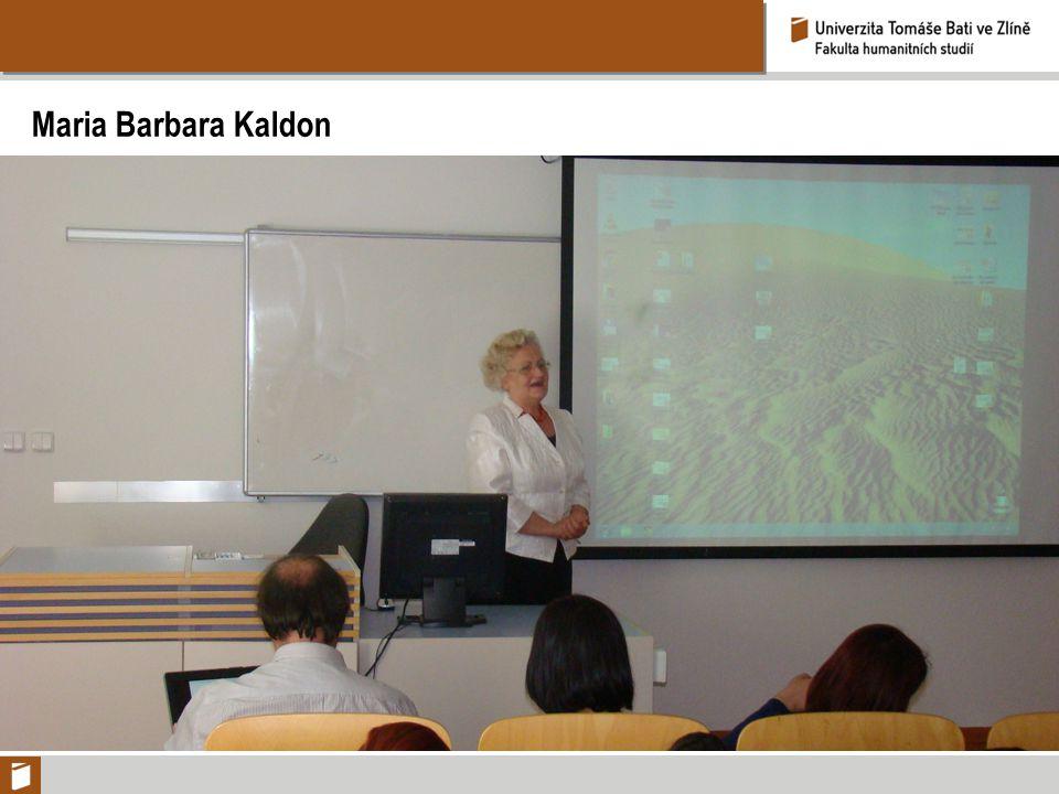 Maria Barbara Kaldon