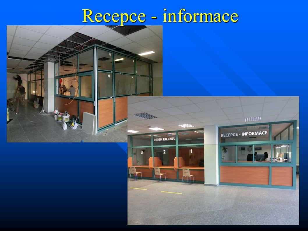 Recepce - informace