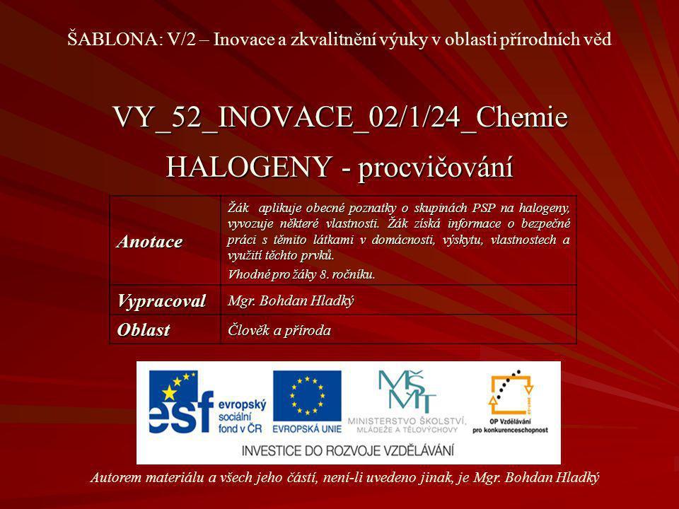 VY_52_INOVACE_02/1/24_Chemie