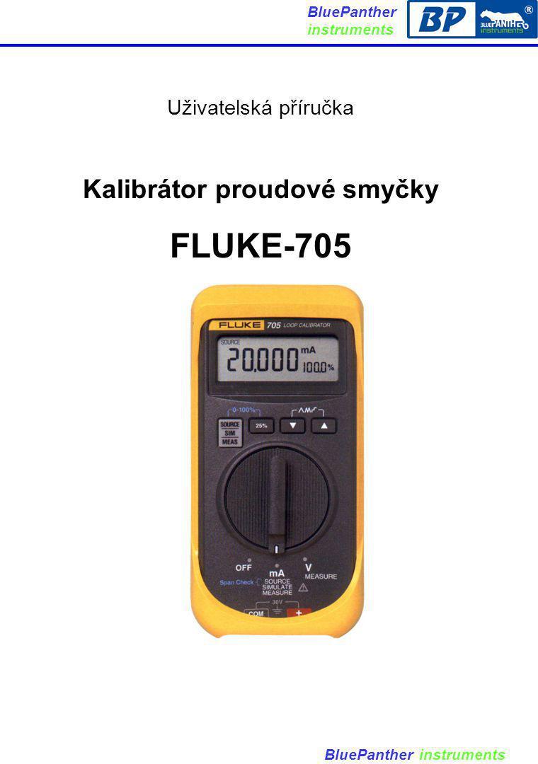 Kalibrátor proudové smyčky