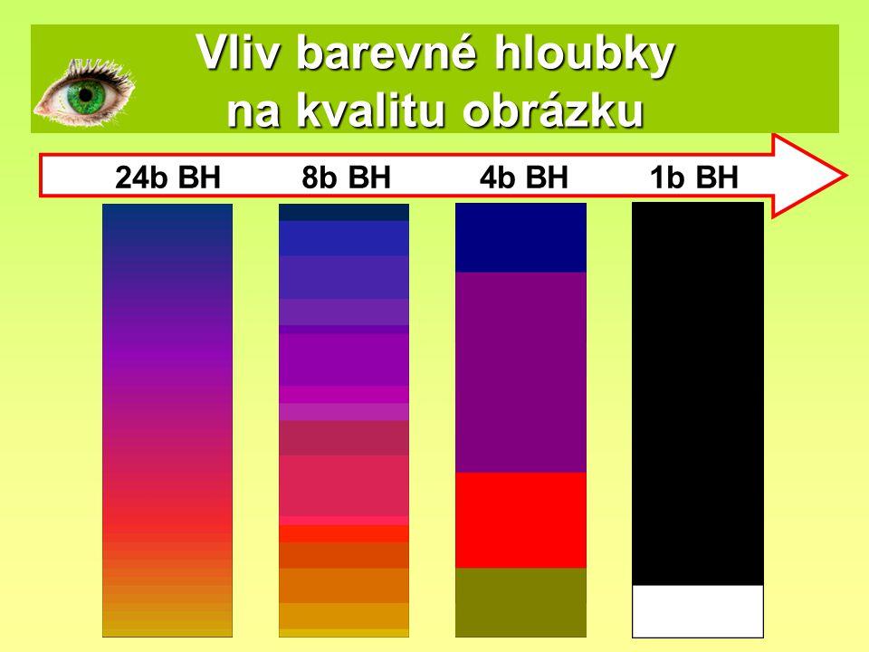 Vliv barevné hloubky na kvalitu obrázku