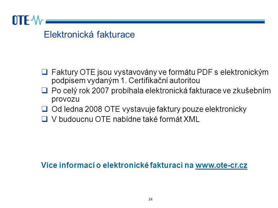Elektronická fakturace
