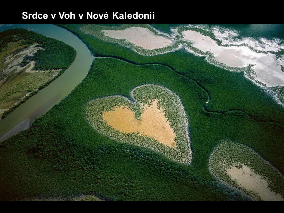 Srdce v Voh v Nové Kaledonii