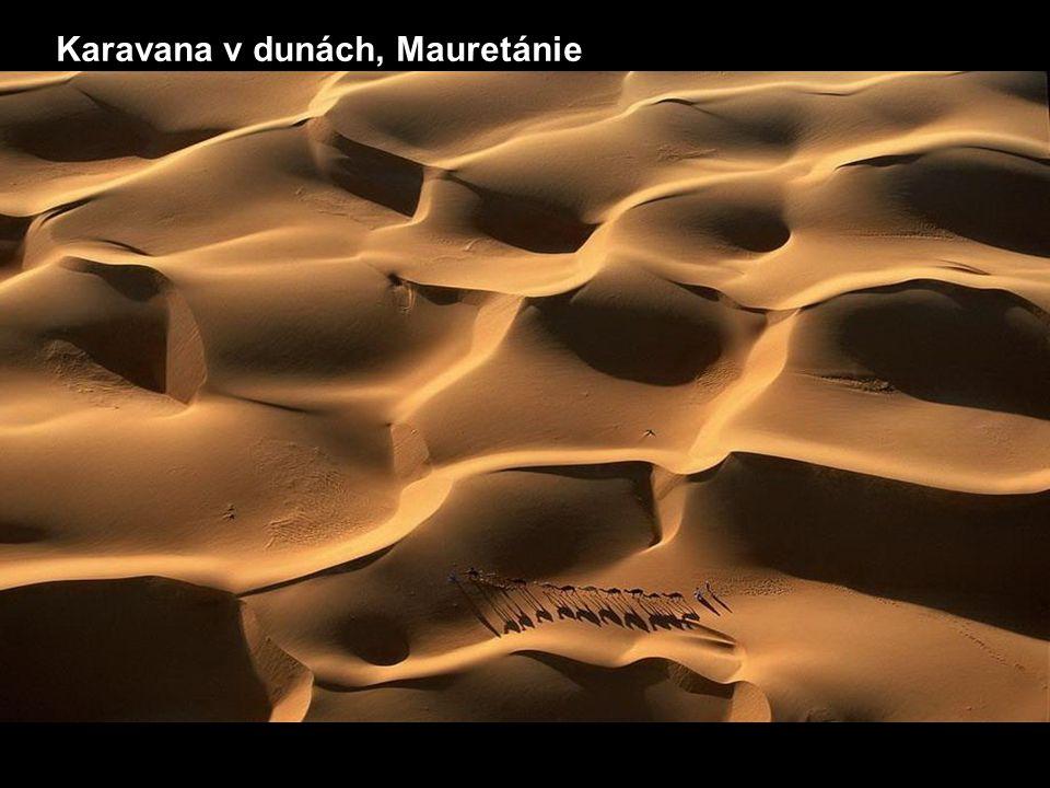 Karavana v dunách, Mauretánie