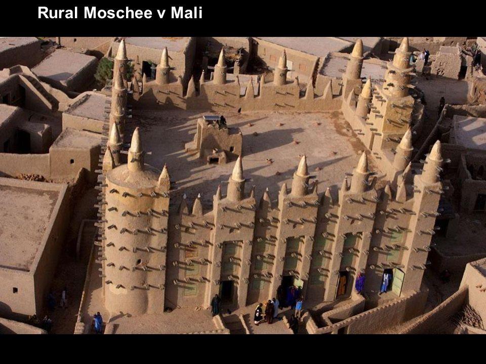 Rural Moschee v Mali