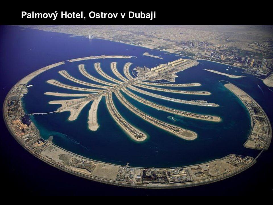 Palmový Hotel, Ostrov v Dubaji