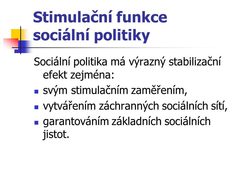 Stimulační funkce sociální politiky