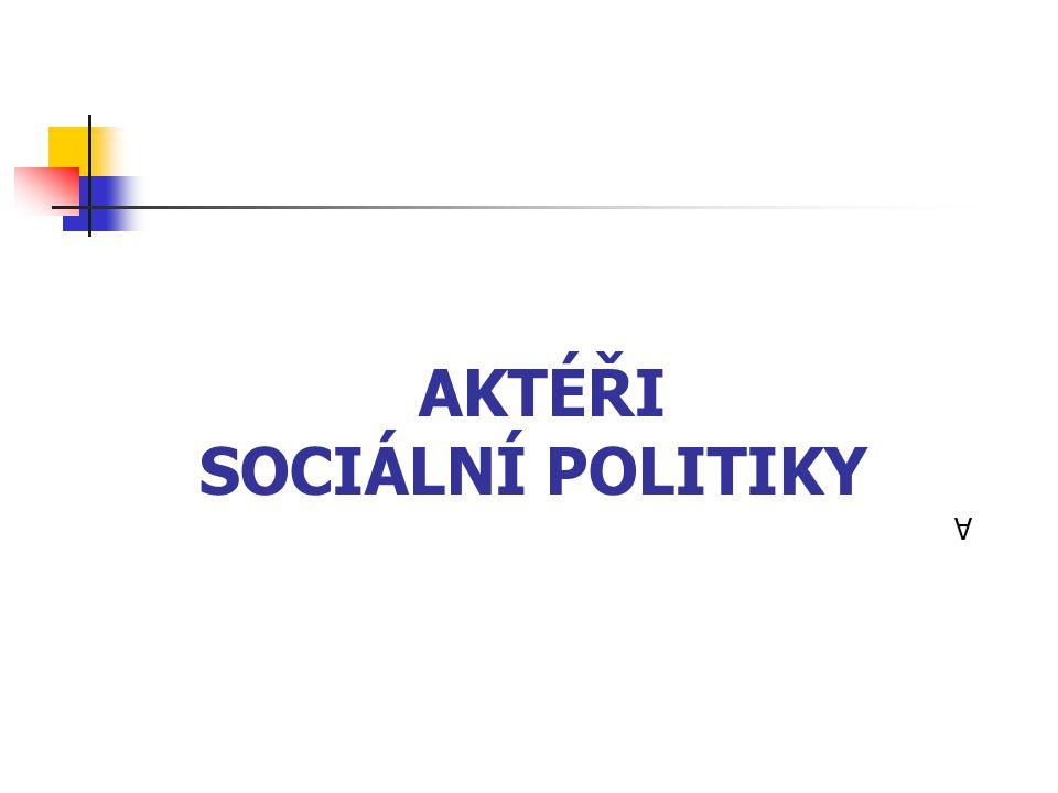 Aktéři sociální politiky