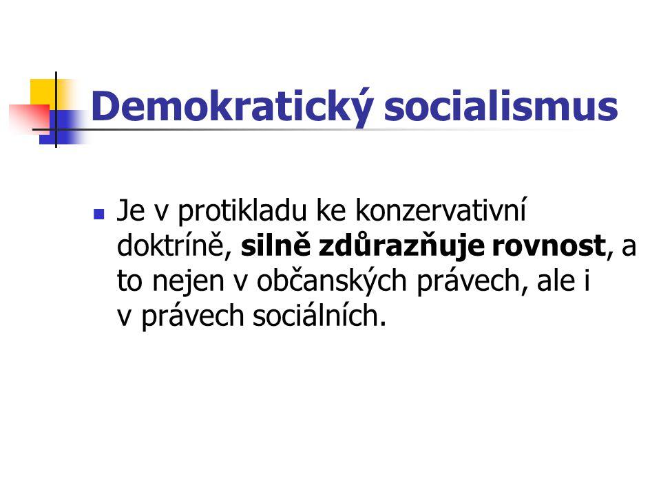 Demokratický socialismus